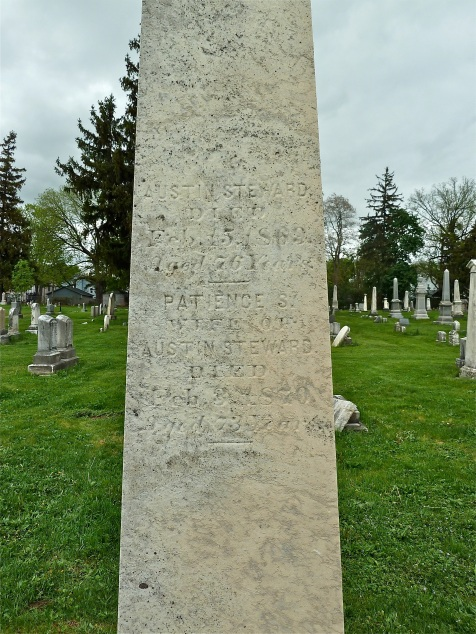 seward's grave